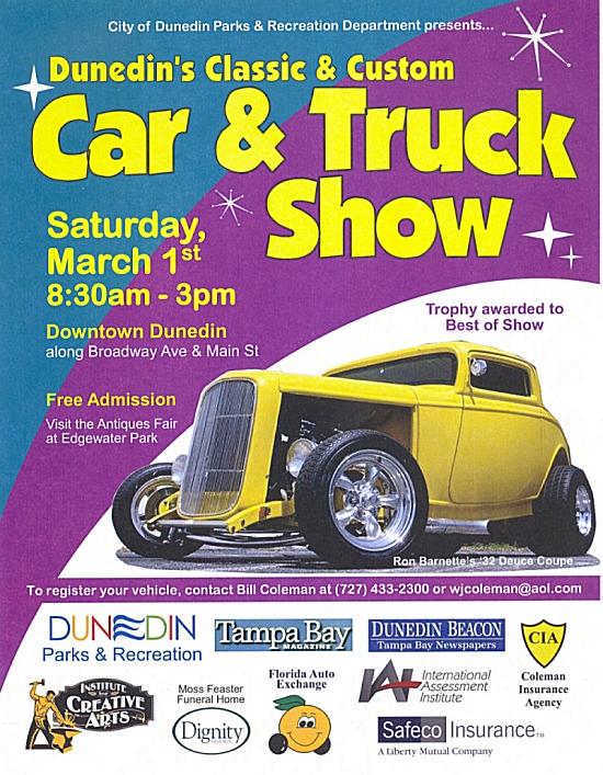 Dunedin Classic & Custom Car & Truck Show