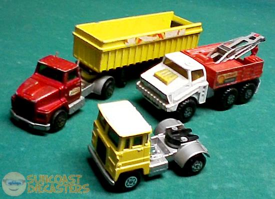 Big tractors...