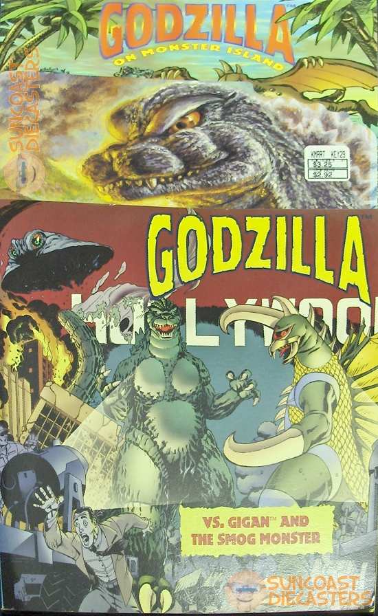Oh wait, I just remembered: ''Godzilla and the No Good, Very Bad Diary of Lemony Hallows''.