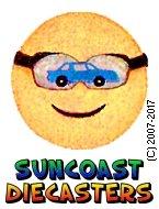 Suncoast Diecasters SunRacer logo