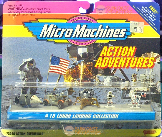 How could the moon landing be a hoax when it has given us such cool toys?